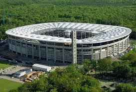 Waldstadion Aussenansicht