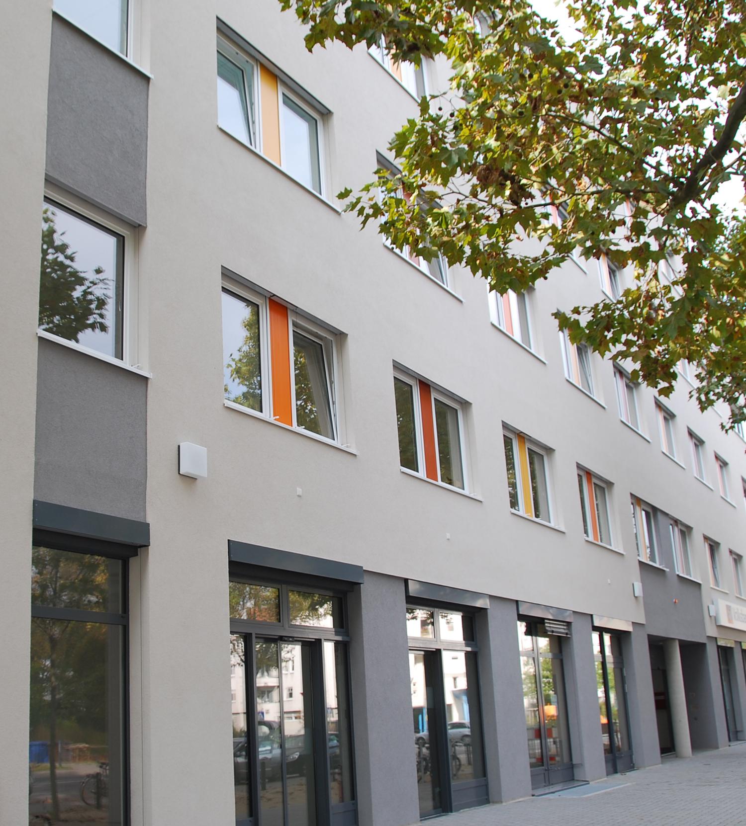 Ansicht Liebenauerfeld Aerztehaus seitlich